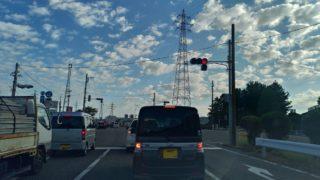 金沢市の国道8号線の混み具合は?朝の通勤時間に野々市から森本付近に行くまでにかかる時間を実測
