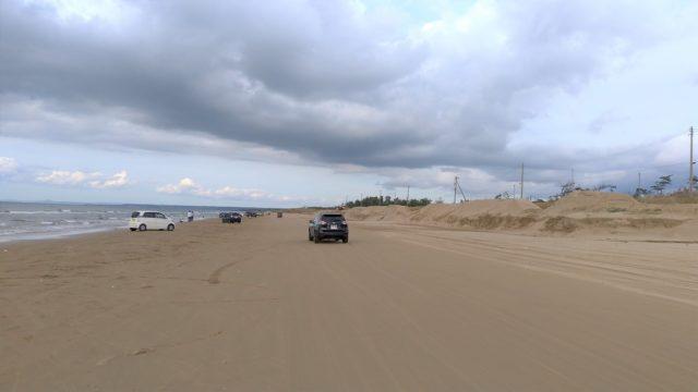 千里浜なぎさドライブウェイで砂浜を走ろう【石川県の車旅】