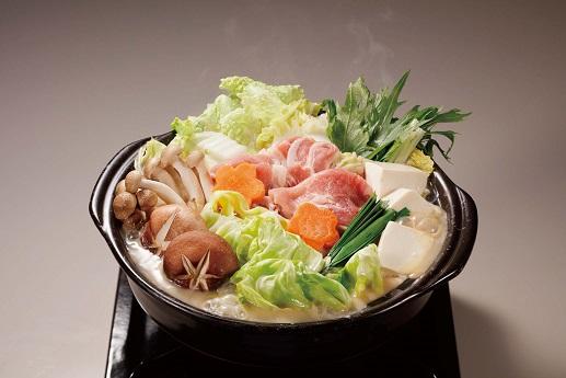 ごまとり野菜みそ鍋