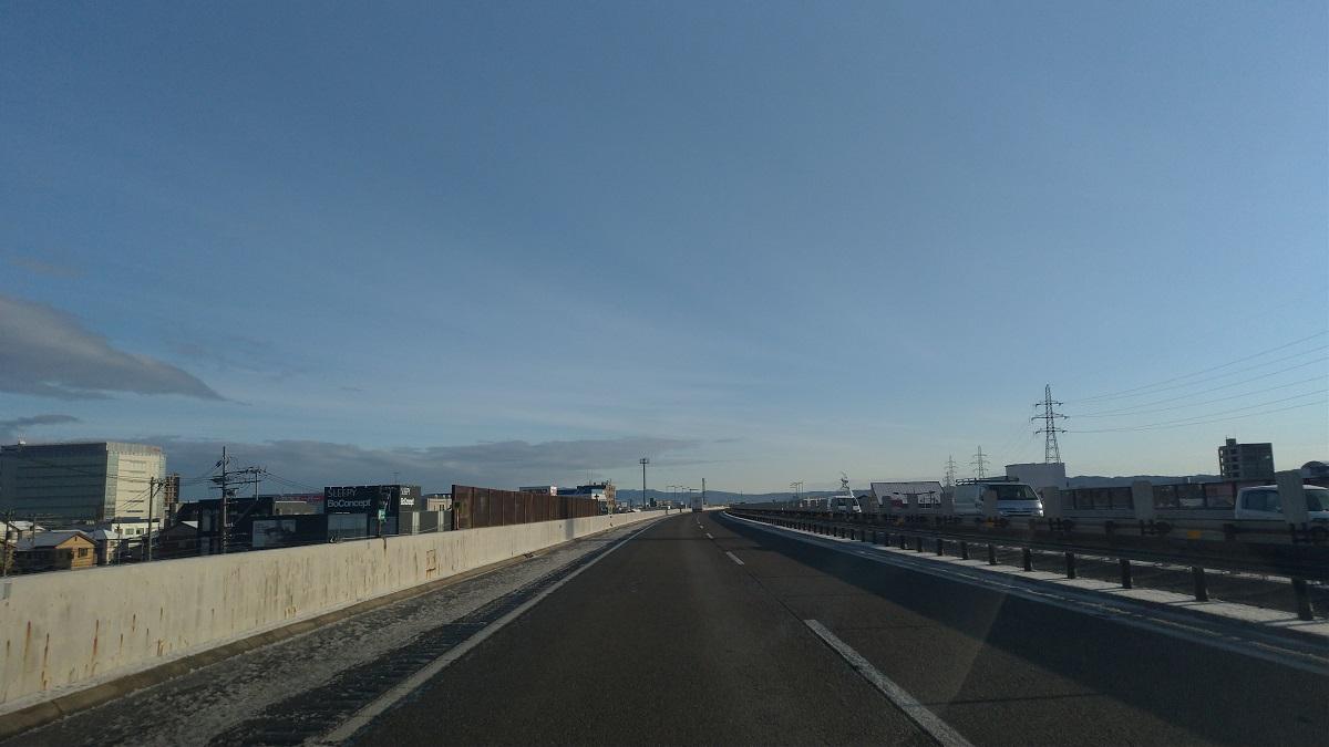 冬季は金沢西~金沢東の1区間だけ高速を利用して快適に通勤しよう