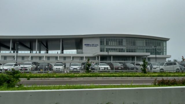 金沢の新しいビュースポット!金沢港クルーズターミナルに行ってみた
